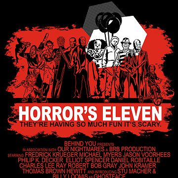 Horror's Eleven by Ryleh-Mason