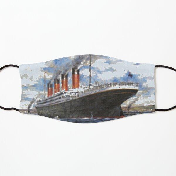 Titanic Sinking Vintage Poster Cruise Ship Atlantic Ocean Voyage  Kids Mask
