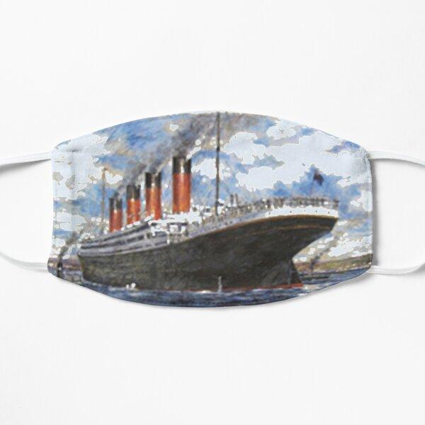 Titanic Sinking Vintage Poster Cruise Ship Atlantic Ocean Voyage  Flat Mask