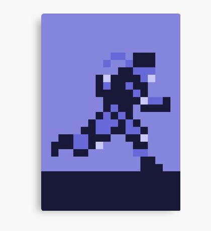 Snake on the Run - Metal Gear Solid Canvas Print