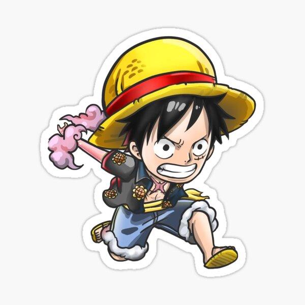 Luffy Anime Sticker (One Piece) Sticker