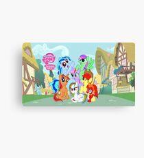 My little pony friendship is magic! Canvas Print