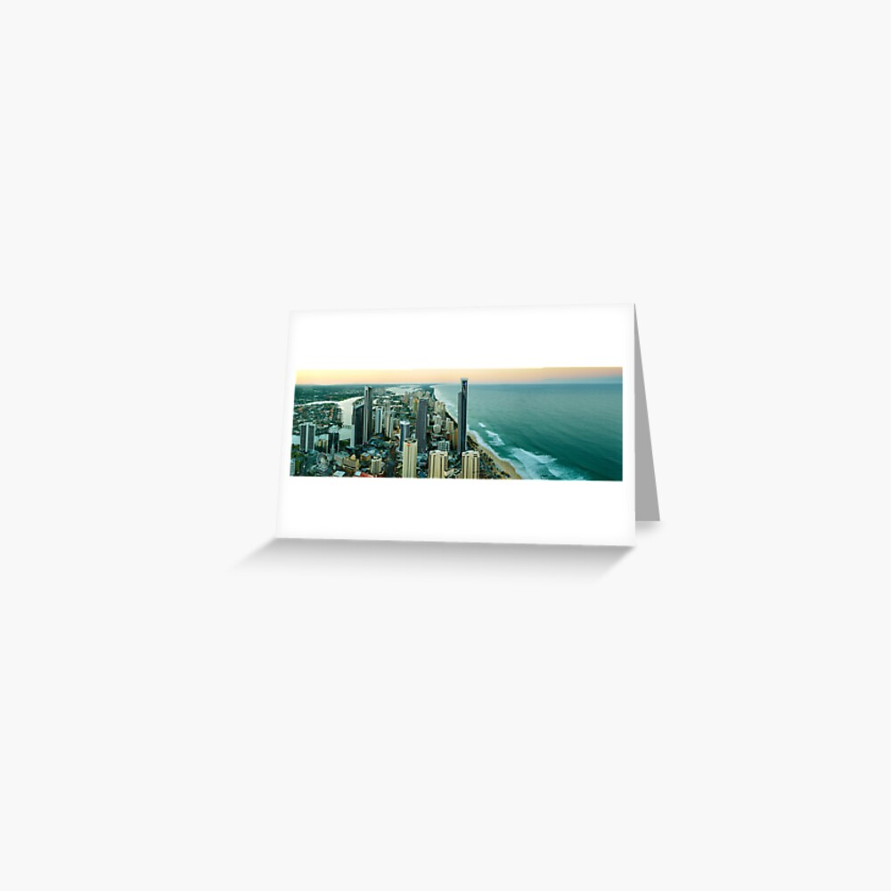 Surfers Paradise, Queensland, Australia Greeting Card
