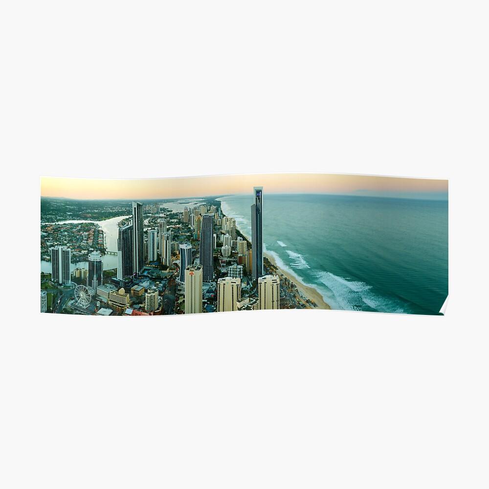 Surfers Paradise, Queensland, Australia Poster