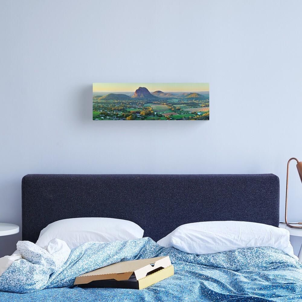Glasshouse Mountains, Queensland, Australia Canvas Print