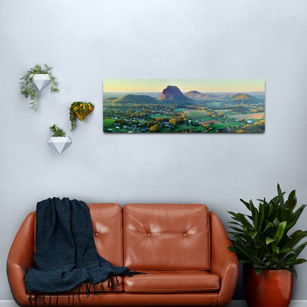 Glasshouse Mountains, Queensland, Australia Metal Print