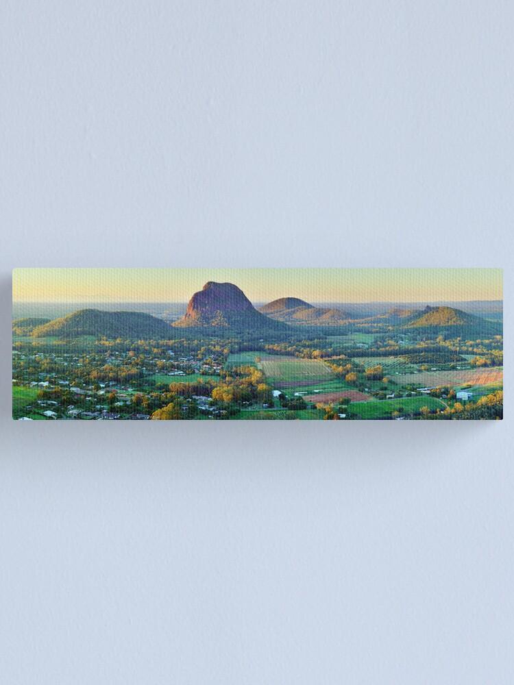 Alternate view of Glasshouse Mountains, Queensland, Australia Canvas Print