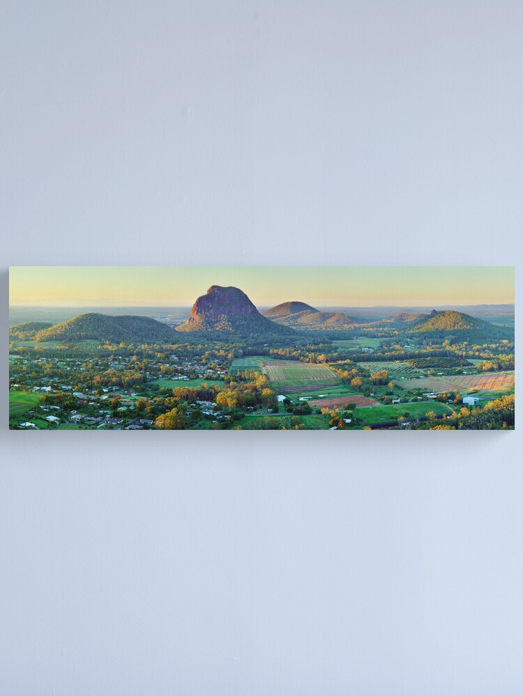 Alternate view of Glasshouse Mountains, Queensland, Australia Canvas Print
