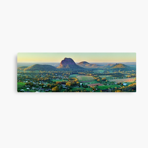 Glasshouse Mountains, Queensland, Australia Canvas Print