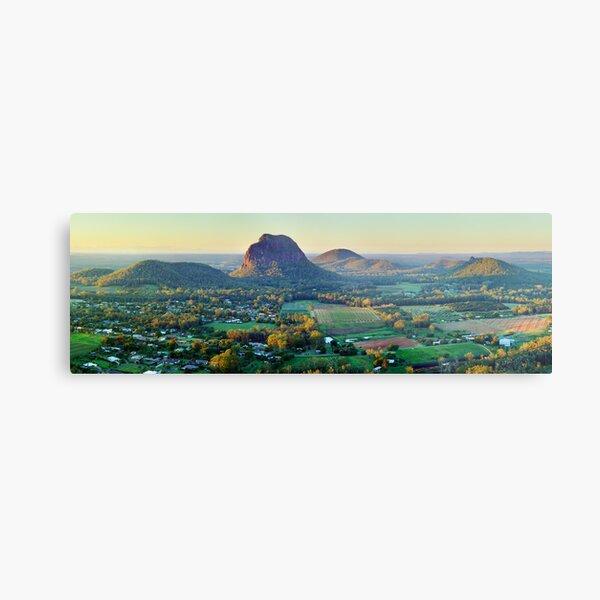 Glasshouse Mountains, Queensland, Australia Metal Print