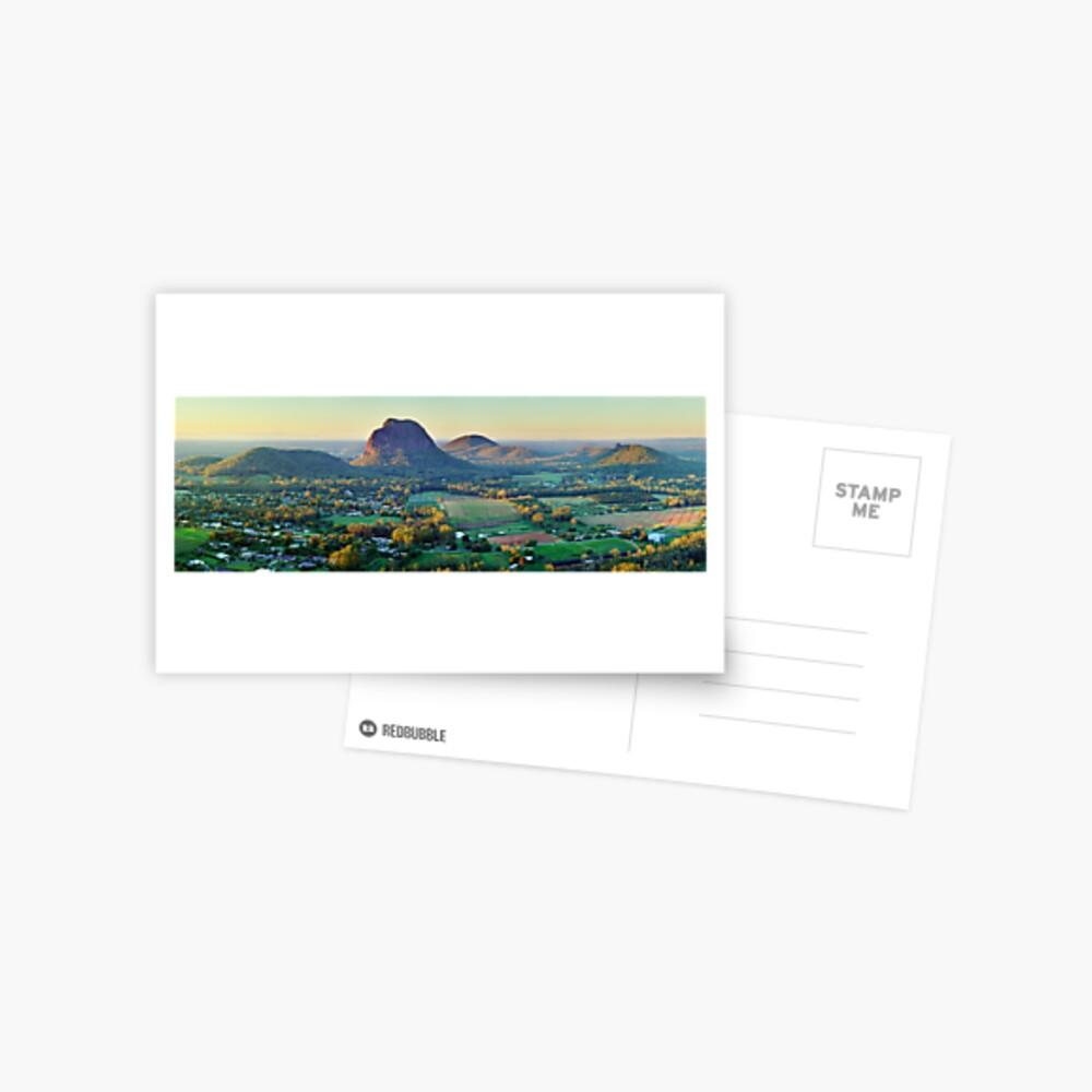 Glasshouse Mountains, Queensland, Australia Postcard