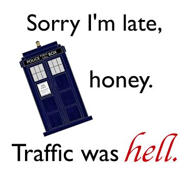 Traffic Was Hell by facingthewindow
