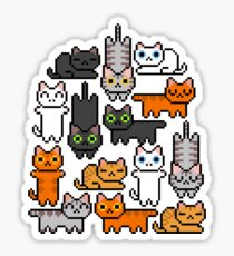 Super Kitten Pile (Just Cats) Sticker