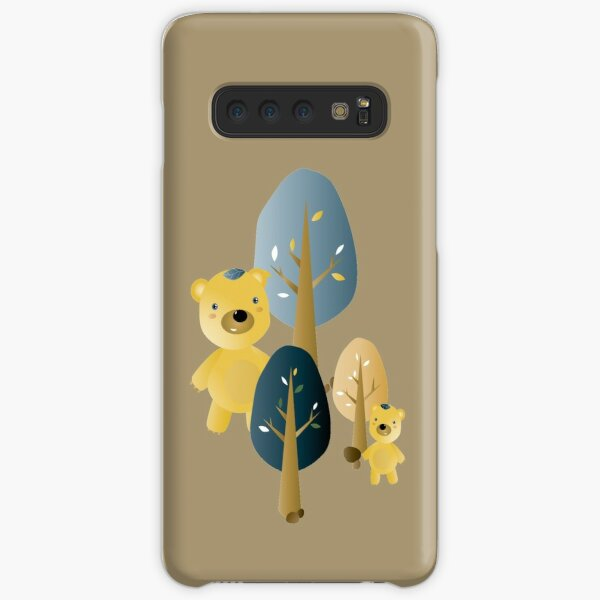 Leafbears in the woods Samsung Galaxy Snap Case