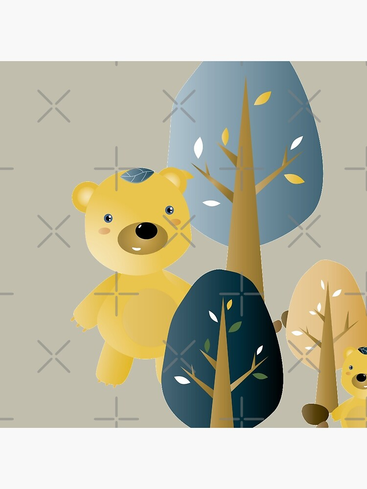 Leafbears in the woods by whya