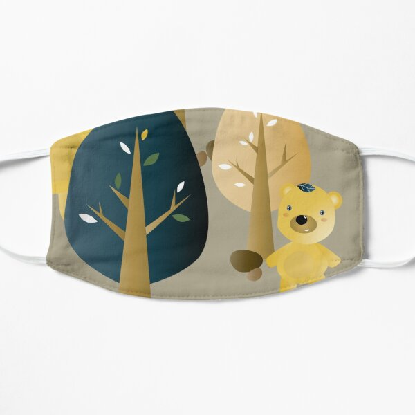 Leafbears in the woods Mask