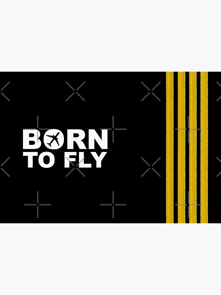 Born To Fly Captain Stripes by Joel-Designs