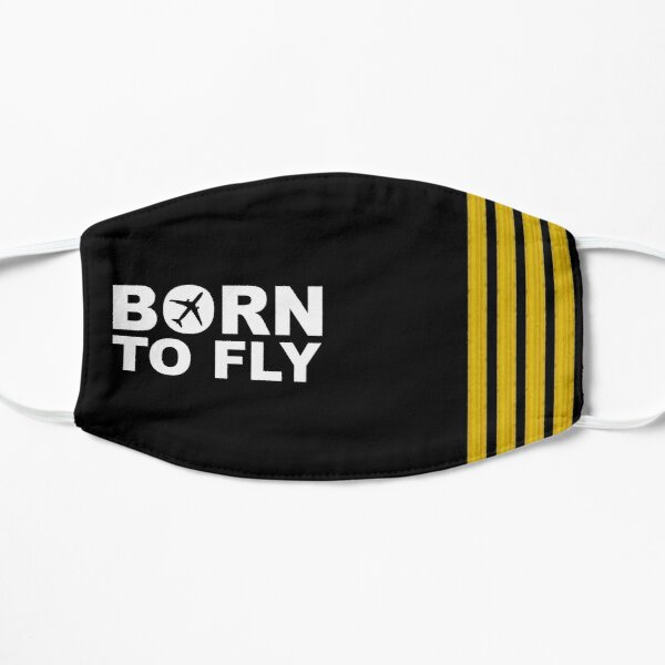 Born To Fly Captain Stripes Mask