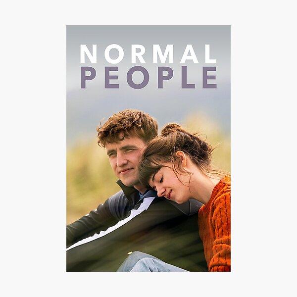 Normal people Lámina fotográfica