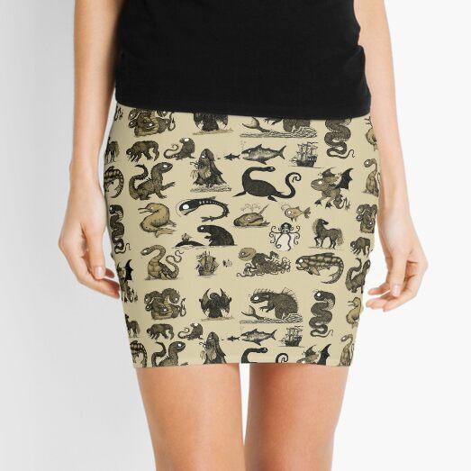 Sea Monsters Collection Mini Skirt