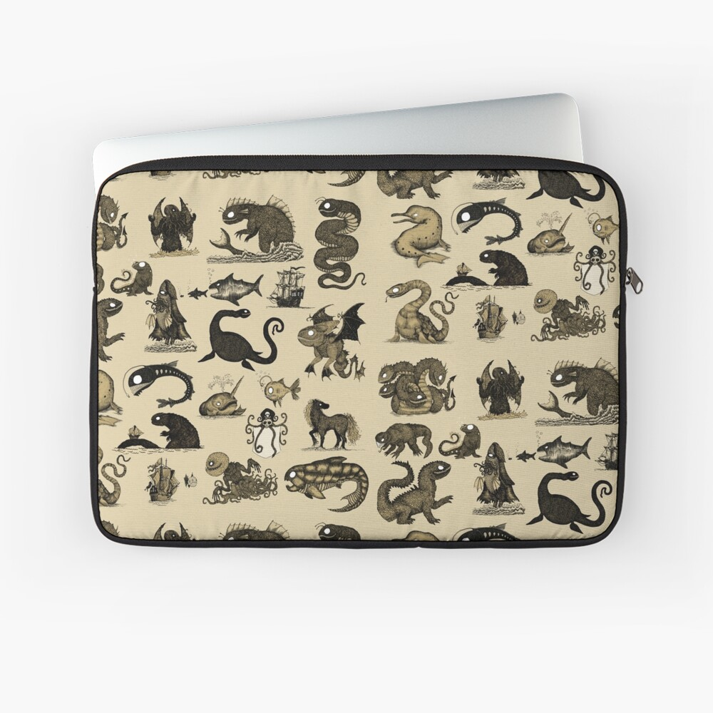Sea Monsters Collection Laptop Sleeve