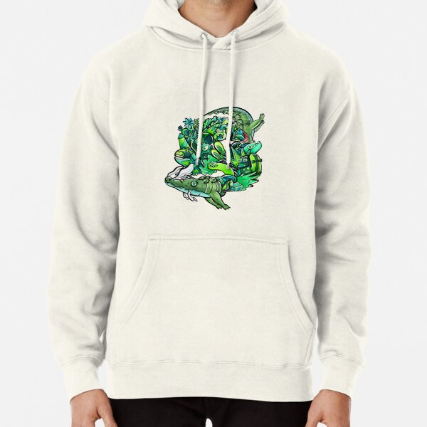 Doodle croc Pullover Hoodie