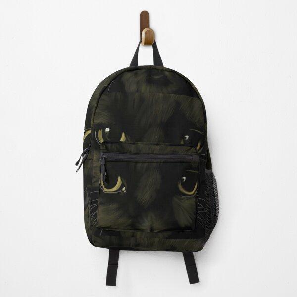 Lucky black cat Backpack