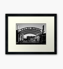 St. Kilda Marina in June Framed Print