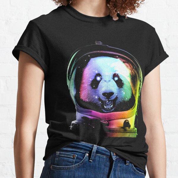 Astronaute Panda T-shirt classique
