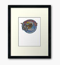 Bug Stomper Framed Print