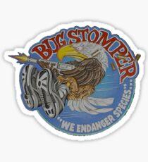 Bug Stomper Sticker