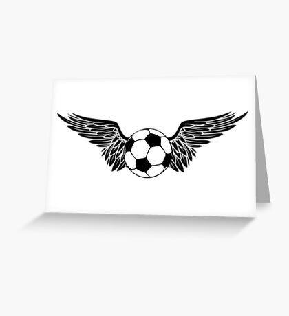futbol wings Greeting Card