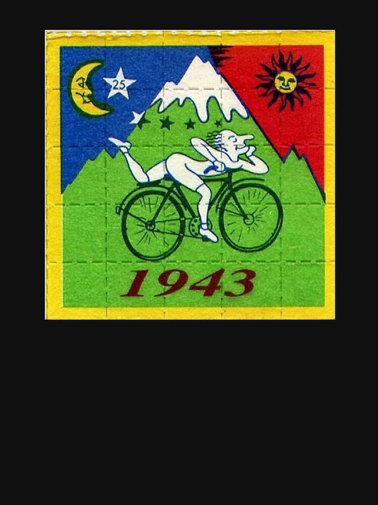 LSD Bicycle Day - Albert Hofmann by coolartdude