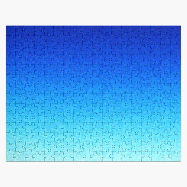 Brash & Sassy Blue Jigsaw Puzzle