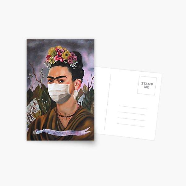 Coronavirus Frida Kahlo Postcard