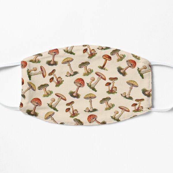 Mushrooms Flat Mask