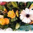 """BIRTHDAY BOUQET 2013 2 BIBLE VERSE """"JOY"""" by Shoshonan"""