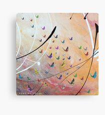 Fly Fly Pretty Wings Canvas Print