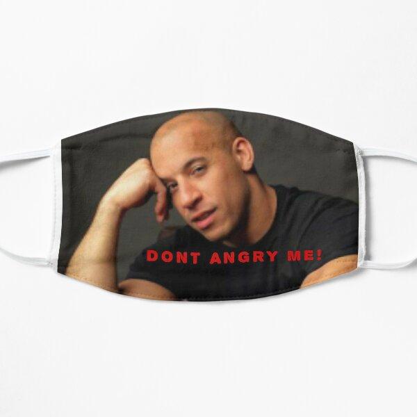 Vin Diesel Logo Design Flache Maske
