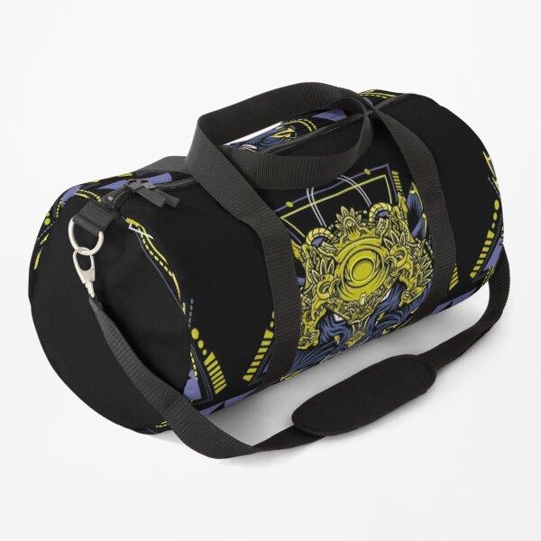 Geometric Golden Creature Duffle Bag