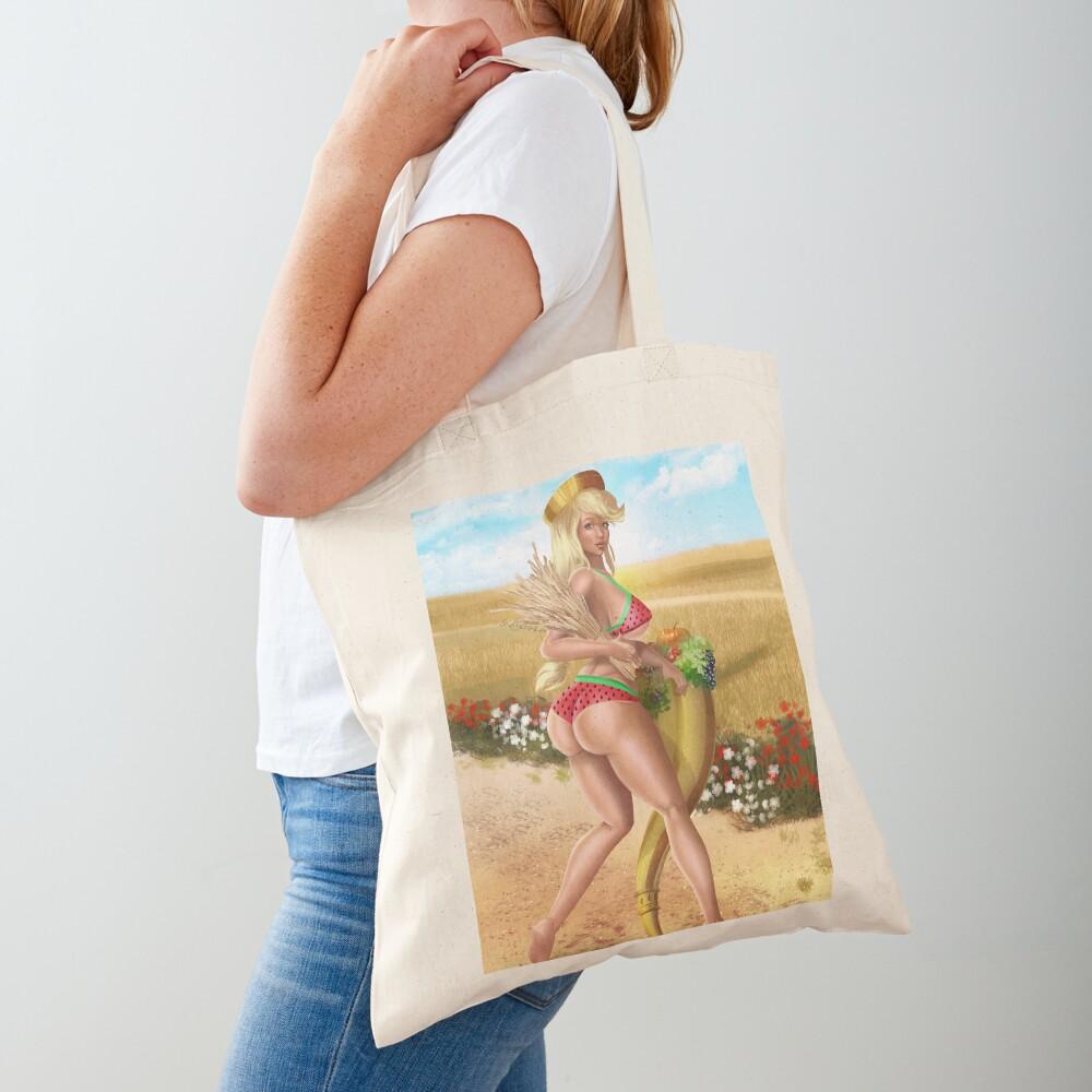 Demeter Watermelon Greek Goddess Tote Bag