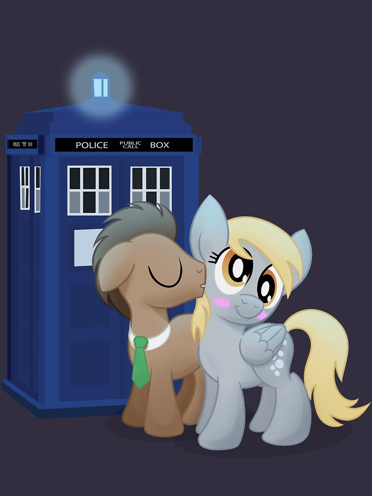 TShirtGifter presents: Derpy and the Doctor (My Little Pony: Friendship is Magic) | Unisex T-Shirt