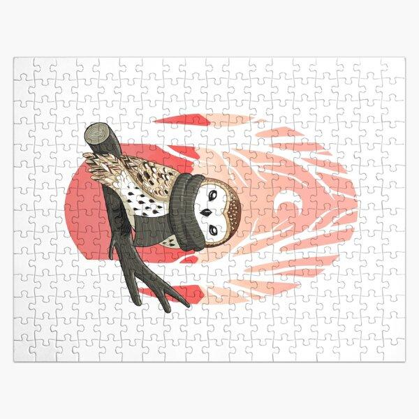 Winter Owl Jigsaw Puzzle
