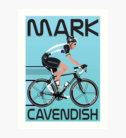Mark Cavendish Art Print