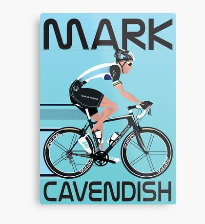 Mark Cavendish Metal Print