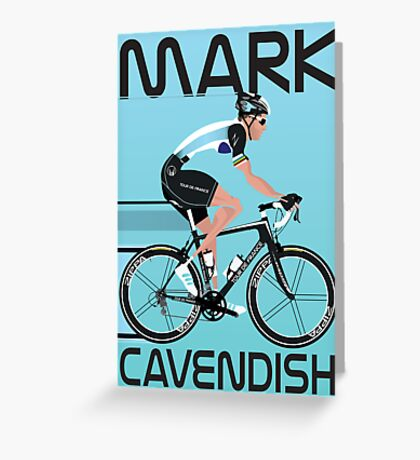 Mark Cavendish Greeting Card