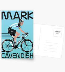 Mark Cavendish Postcards