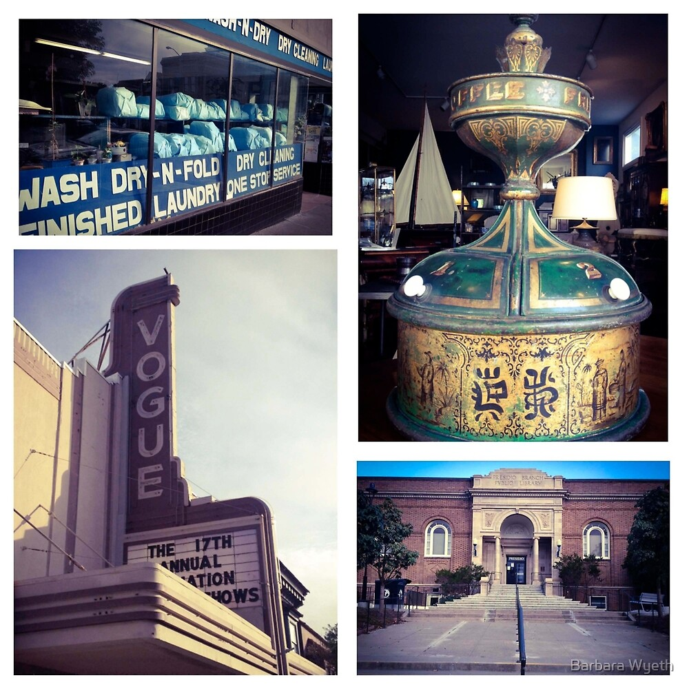 Sacramento Street by Barbara Wyeth