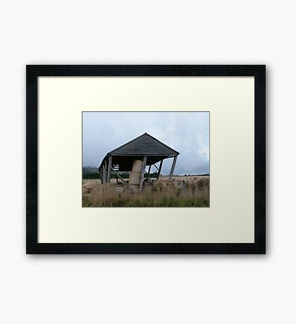Bent but not Broken Framed Print