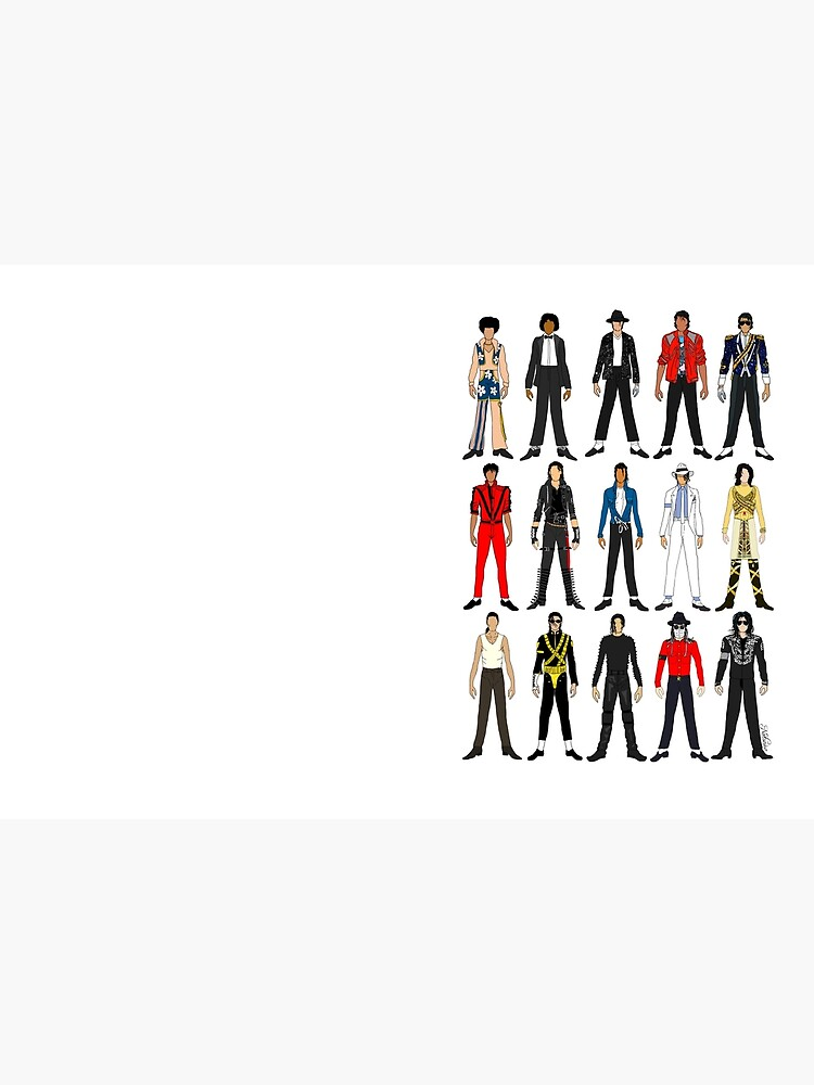 Outfits of King Jackson Pop Music Fashion by notsniwart